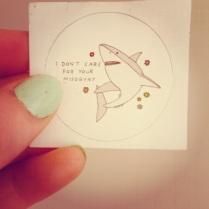 anti-misogyny shark
